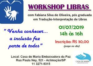 workshop libras
